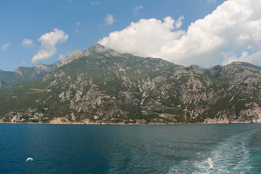 Путешествие в Грецию - Гора Святой Афон