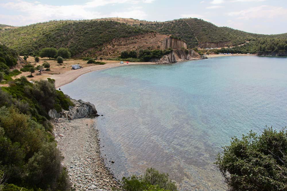 Полудикие пляжи Ситонии