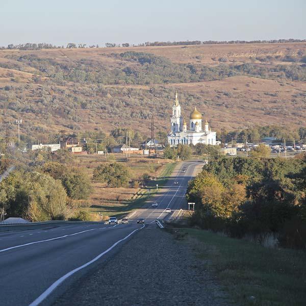 Церковь в селе Московском Ставропольского края
