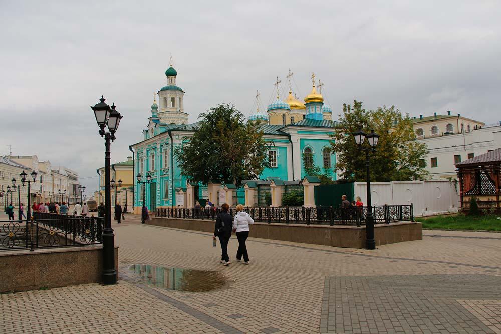 Православные соборы на улице Баумана