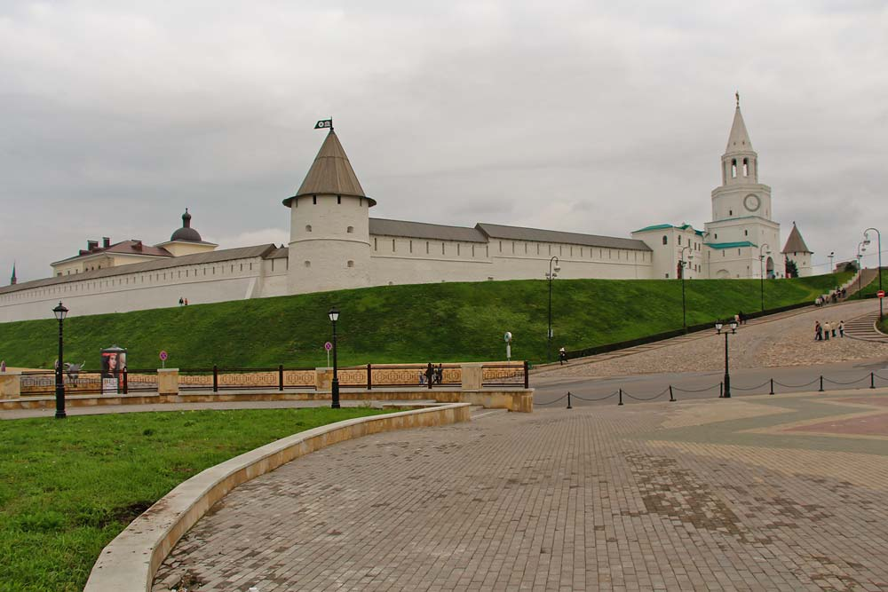 У стен Казанского Кремля