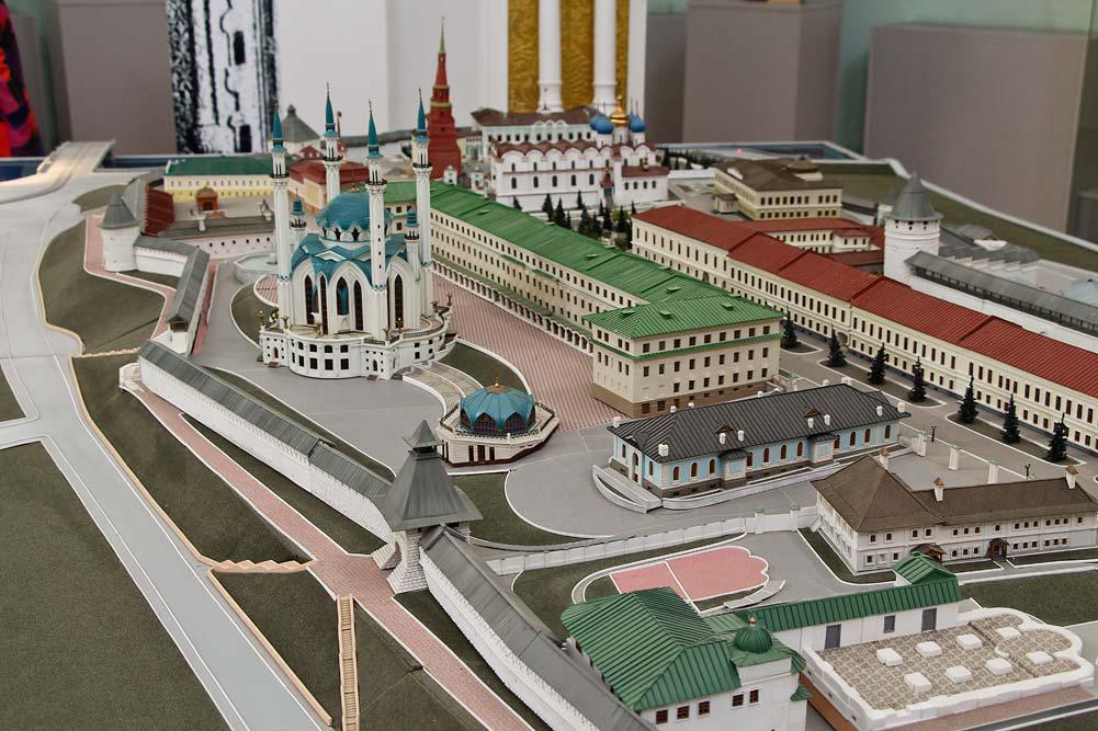 Макет Кремля в Казани