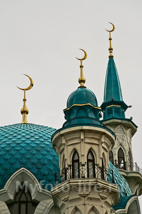 Минареты мечети Кул Шариф