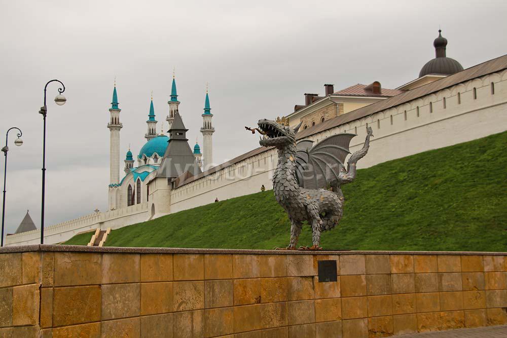 Символ Казани дракон