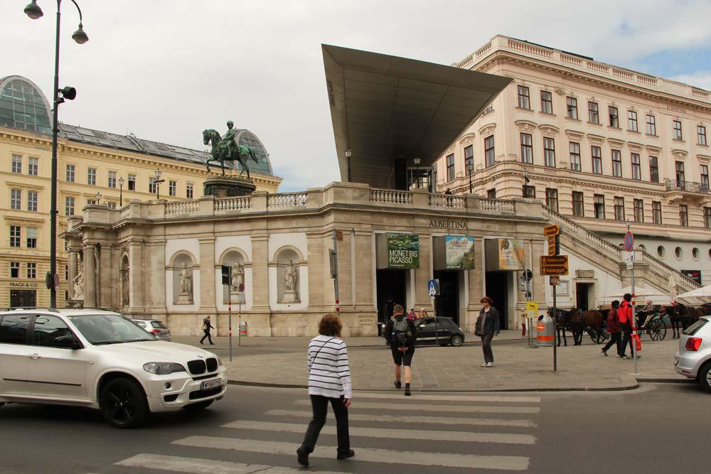 Из Будапешта в Вену - галерея Альбертина