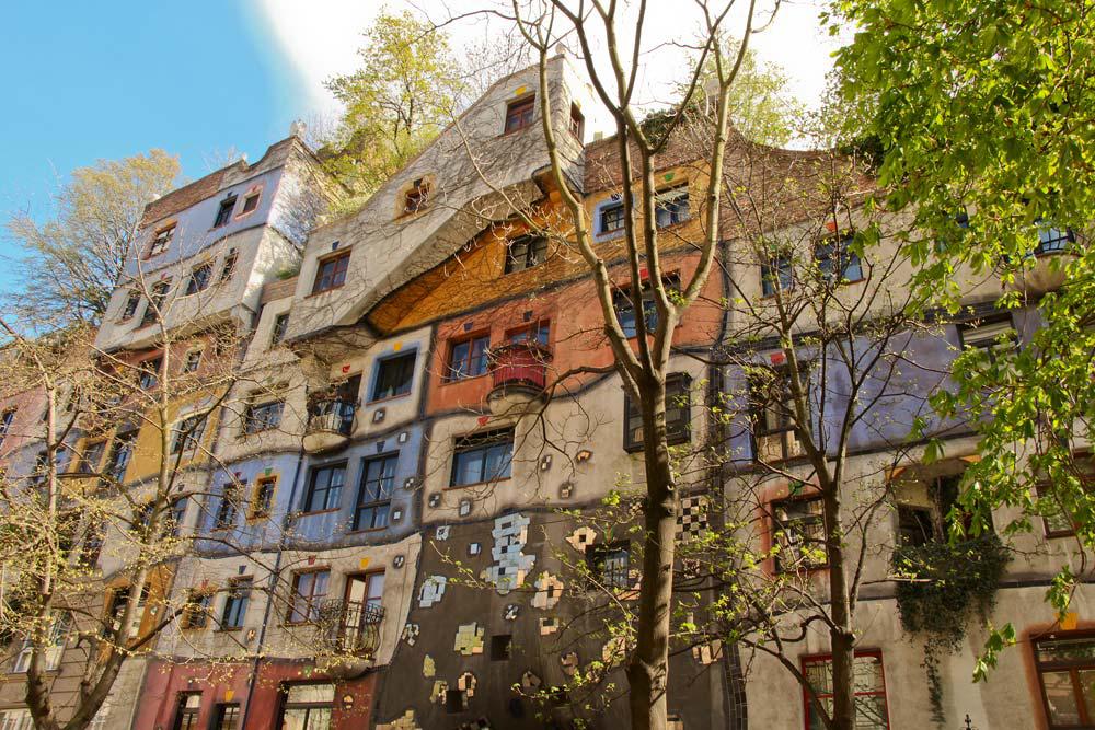 Из Будапешта в вену - дом Хундертвассера