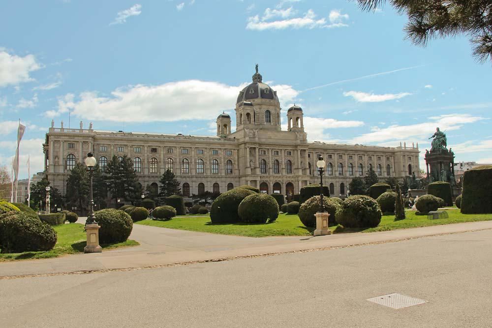Из Будапешта в Вену - площадь Марии Терезии