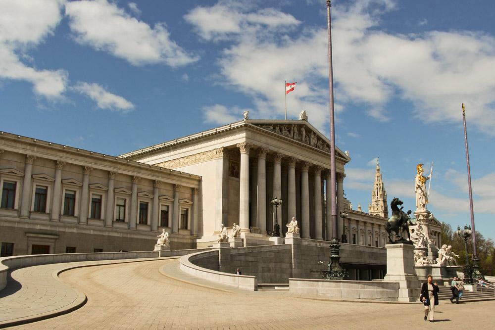 Из Будапешта в Вену - Парламент Австрии