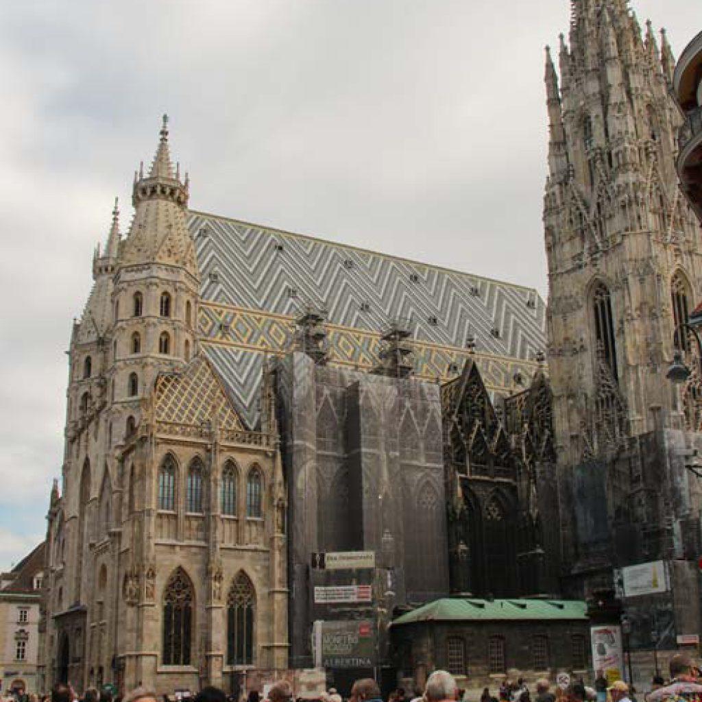 Из Будапешта в Вену - собор св. Стефана