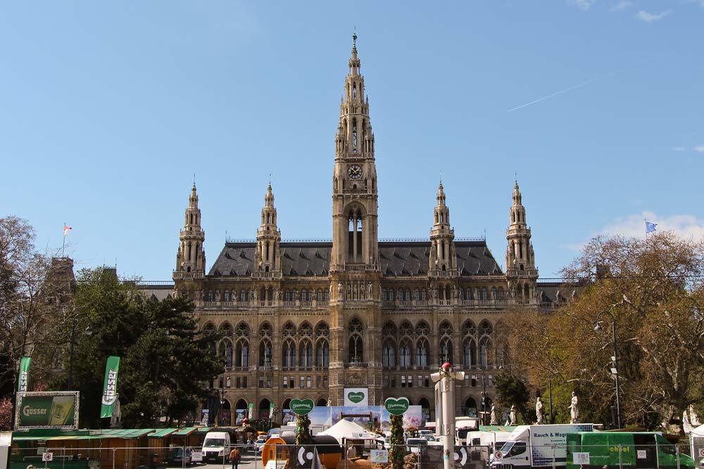 Из Будапешта в Вену - Ратуша
