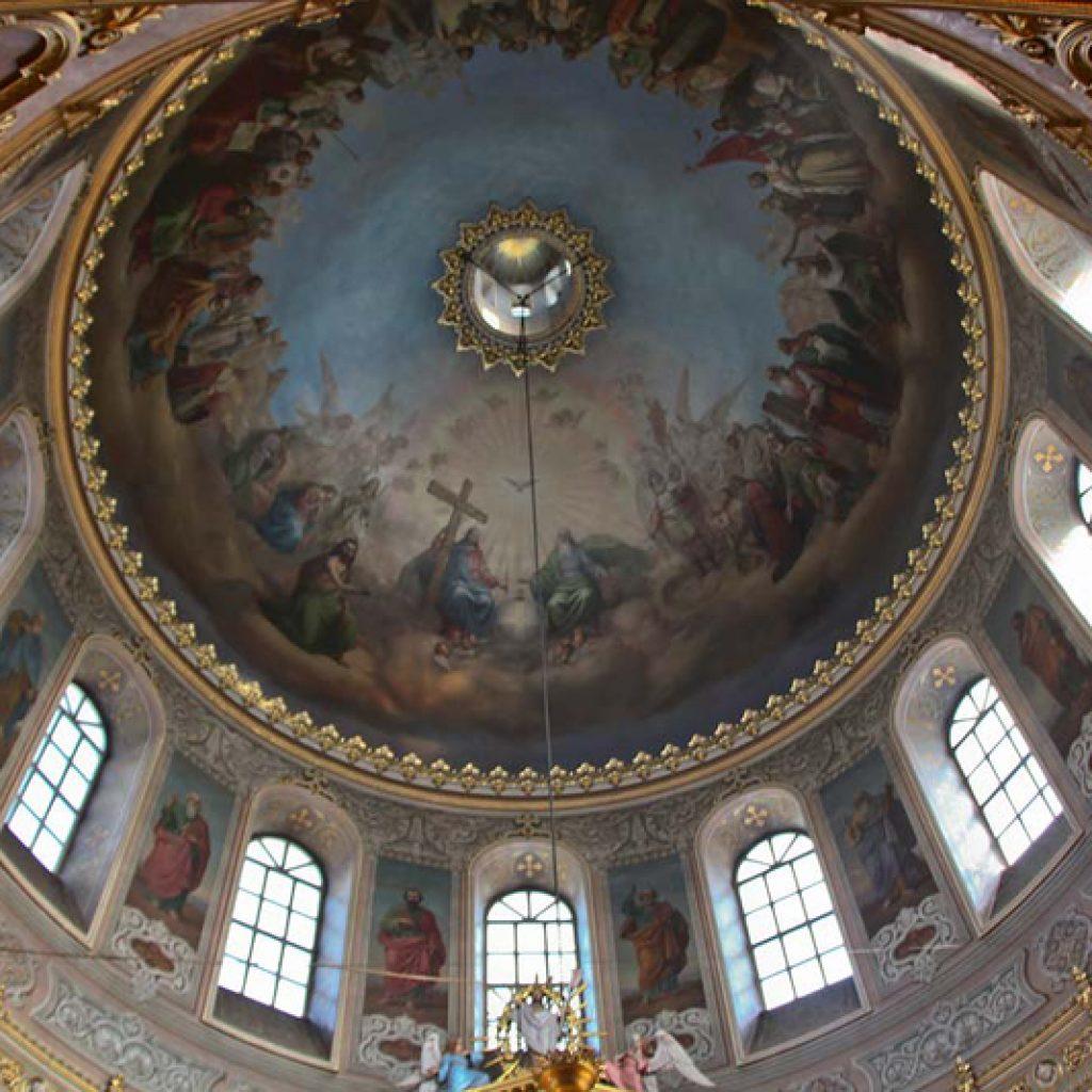 Убранство купола собора Николы Белого