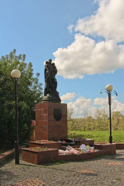 Памятник воину-освободителю на Соборной горе
