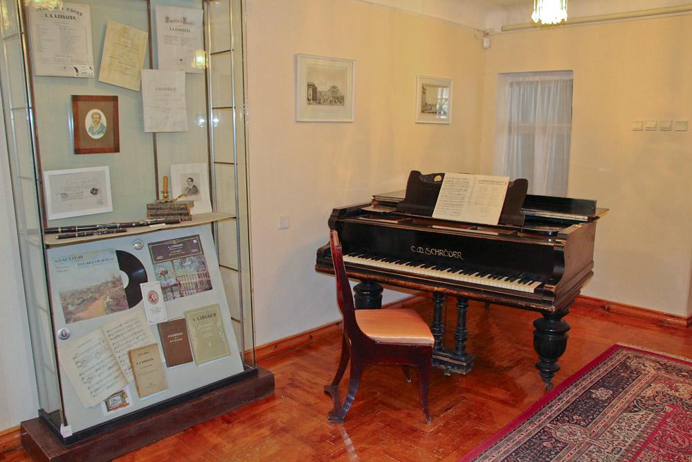 Розовая гостиная в доме Алябьева