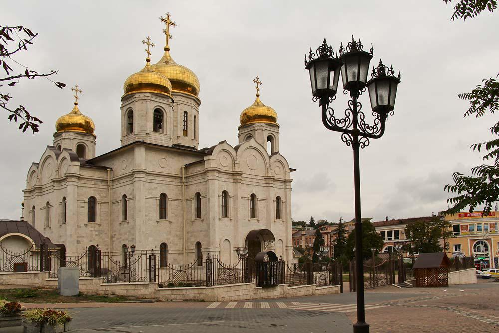 Что посмотреть в Пятигорске - Спасский собор