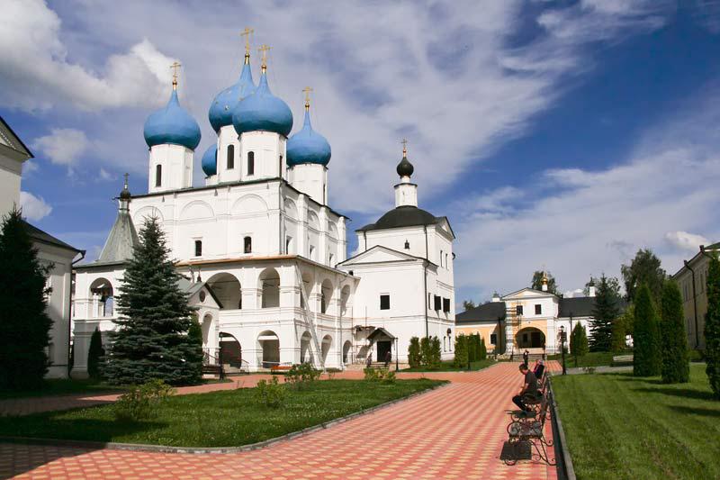 Высоцкий мужской монастырь - Зачатьевский собор