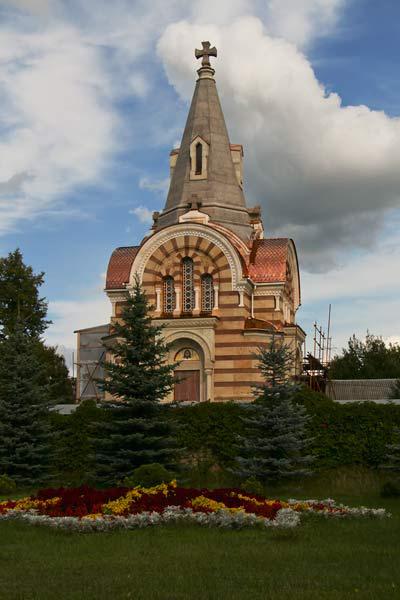 Храм Всех Святых в Высоцком монастыре