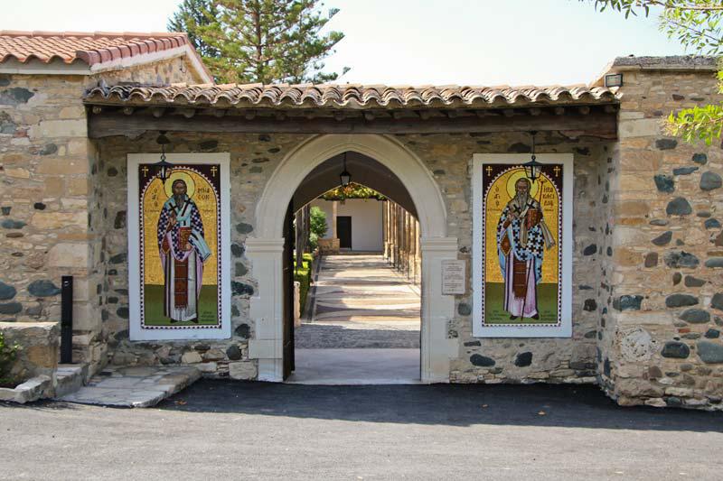 Монастырь святого Ираклидия - врата
