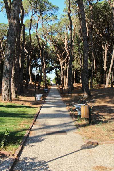 La Serra - дорожка к пляжу