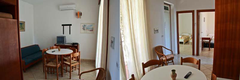 Гостиная в старом домике