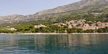 Хорватия, Брела — жемчужина Макарской Ривьеры