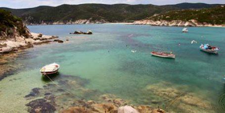 Красивое путешествие на автомобиле по Греции. Греция, Ситония