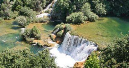 На автомобиле по Хорватии — Национальный Парк КРКа — Шибеник